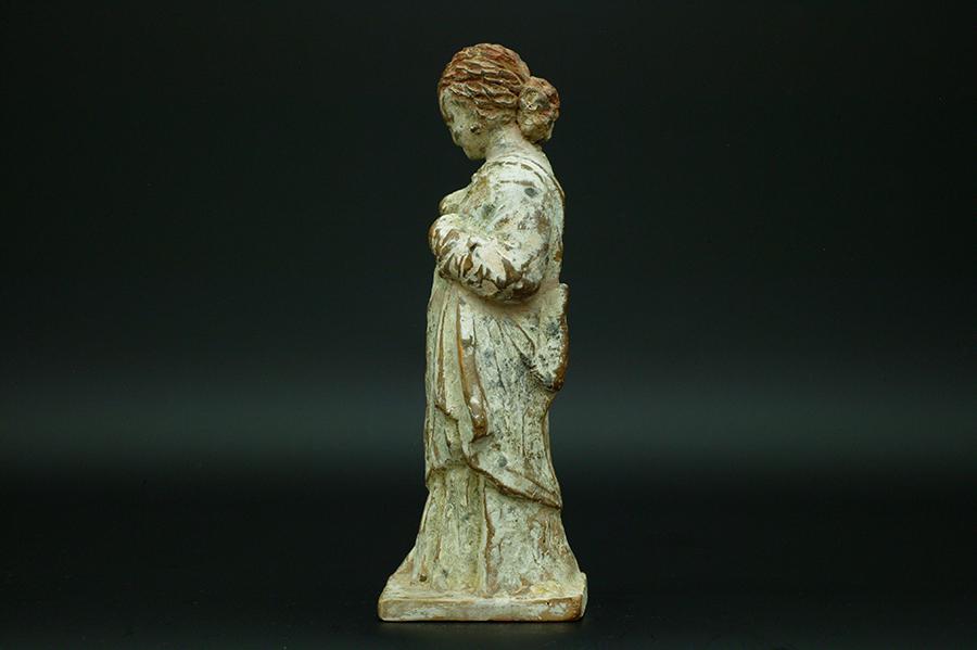 古代ギリシャ タナグラ ヘレニズム美術 ヘレニズム様式 少女像   古代ギリシャ タナグラ ヘレ